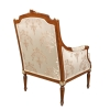 Louis XVI armchair in solid wood