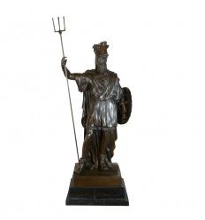 Escultura de bronce de Darío 1er.