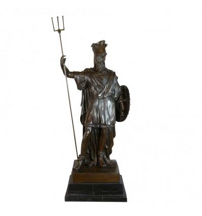 Sculpture en bronze de Darius 1er