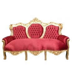 canap baroque meubles baroque pas chers htdeco. Black Bedroom Furniture Sets. Home Design Ideas