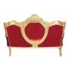 Madrid - barokke meubilair rode barok sofa