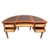 Louis XVI-Schreibtisch-Halbmond - Louis XVI Schreibtisch -