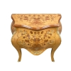 Louis XV COMMODE with flowers inlay - Louis XV chest of drawers -