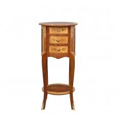 Kleine ronde dressoir Louis XV