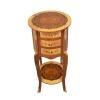 Små runda Dresser Louis XV - Louis XV Toalettstol -