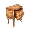 Comò Luigi XV in mobili biondi mogano-Luigi XV