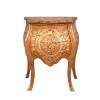 Louis XV Dresser i blont mahogny-Louis XV möbler