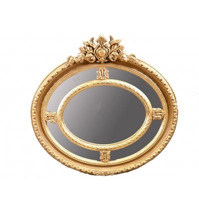 Louis XV mirror in gilded wood -