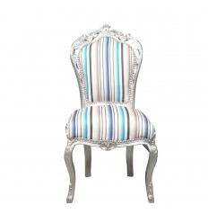 Cadeira barroco multicolor