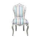 Mehrfarbiger Barockstuhl - Barockstühle -