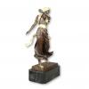Sculpture bronze orientaliste d'une danseuse orientale