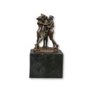 Statua in bronzo di tre grazie - Dee -