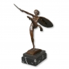 Art Deco Bronzestatue