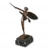 Statua in bronzo art deco