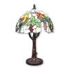 Lampe Tiffany en forme d'arbre et un décor d'oiseau