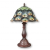 Lampe Tiffany peacock - Lampes de table