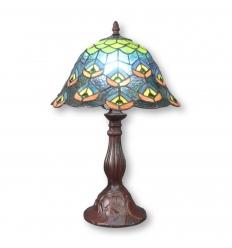 "Lampada Tiffany ""Pavone"""