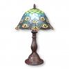 Tiffany lampen peacock