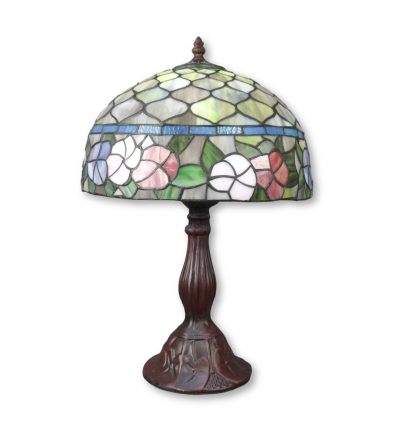 Lampada tiffany guzzini blu con filo - Negozio di lampada Tiffany