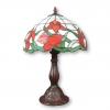 Lámpara Tiffany con tulipanes