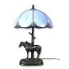 Lampada Tiffany stile animale