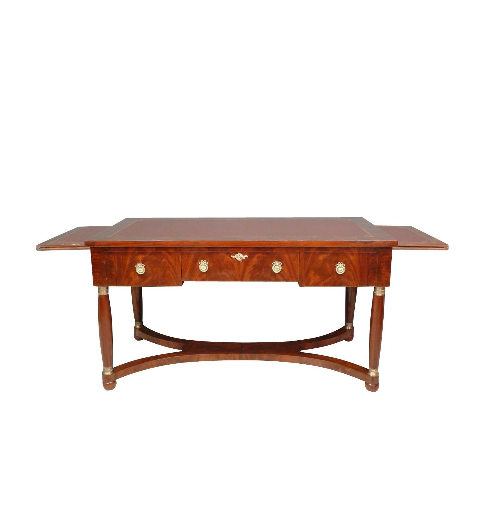 bureau empire en acajou meubles de style. Black Bedroom Furniture Sets. Home Design Ideas