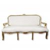 Louis XV sofas weiss und gold
