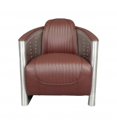Aviator cigar armchair