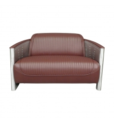 Aviator soffa - 2-sitsig cigarrmodell