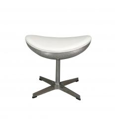 Repose pied pour fauteuil aviateur design blanc