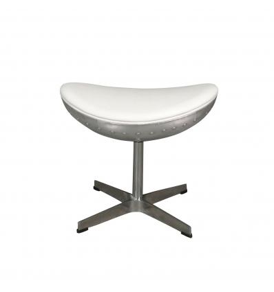 Fodstøtte til hvid design aviator stol