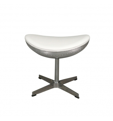 Foot rest for white design aviator chair