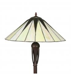 Lampada da terra Tiffany art deco