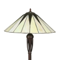 Gulvlampe Tiffany art deco -