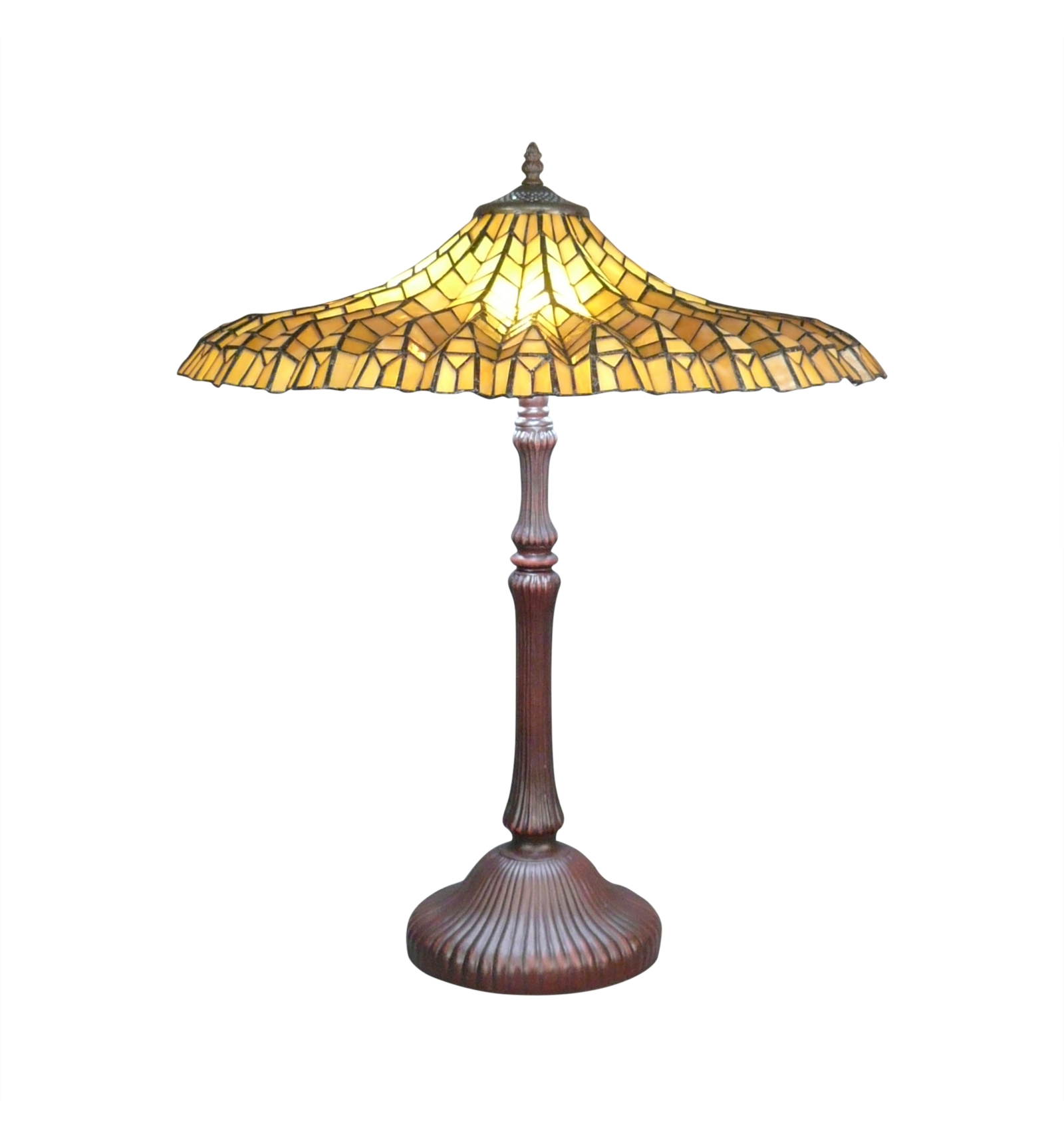 Tiffany Table Lamp Lotus Yellow Tiffany Style Lamps Shop For Uk