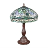 "Tiffany ""Peacock"" Lampe"