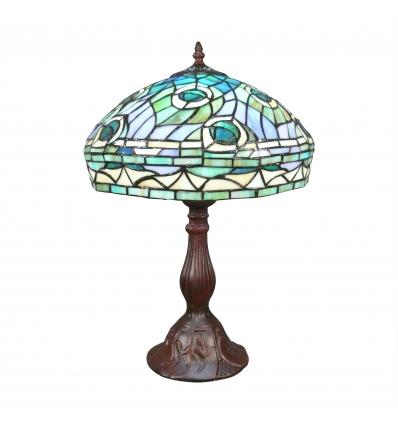 """Lámparas de estilo Tiffany """"Peacock"""""""