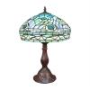 """Lampada Tiffany in stile """"Pavone"""""""