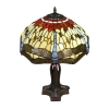 Lamp Tiffany serie Toulouse - H: 61 cm