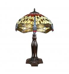 Lampa Tiffany serien Toulouse - H: 61 cm