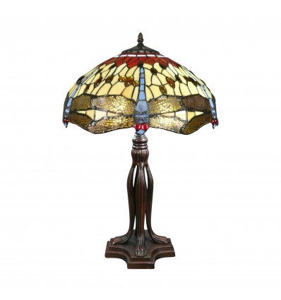 Série Tiffany lampa Toulouse - H: 61 cm