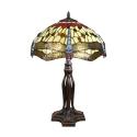 LAMP Tiffany-sarjassa Toulouse - H: 61 cm