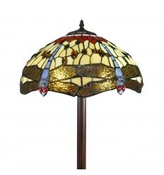 Lámpara de pie Tiffany Faro
