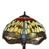 Lâmpada do assoalho Tiffany série de Toulouse