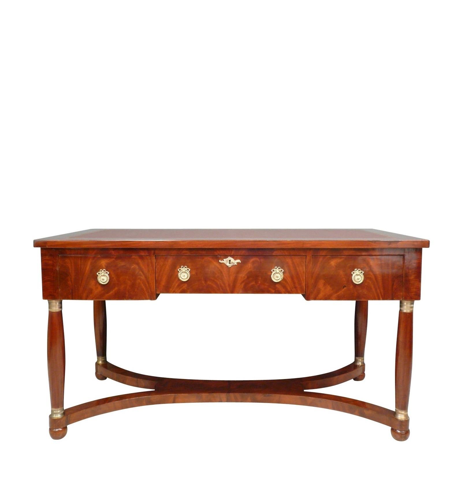 bureau empire en acajou meubles de style