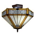 lampy sufitowa tiffany