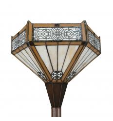 Lámpara de pie Tiffany Torchère Alicante