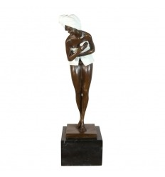 Sculpture en bronze contemporaine - Femme