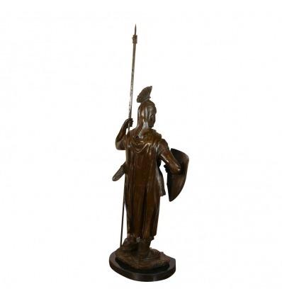 Tempelritter - Bronzestatue