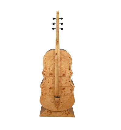 Commode style art déco en forme de guitare - Commode art déco - Meubles art déco